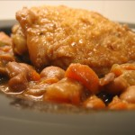 Chicken and white bean ragout