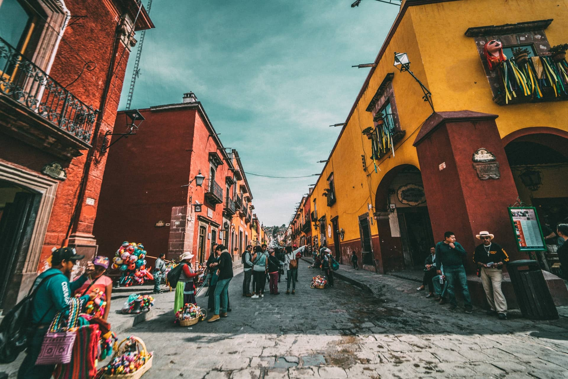 Mexico small town