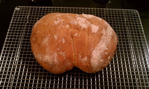 Bread shaped like a butt