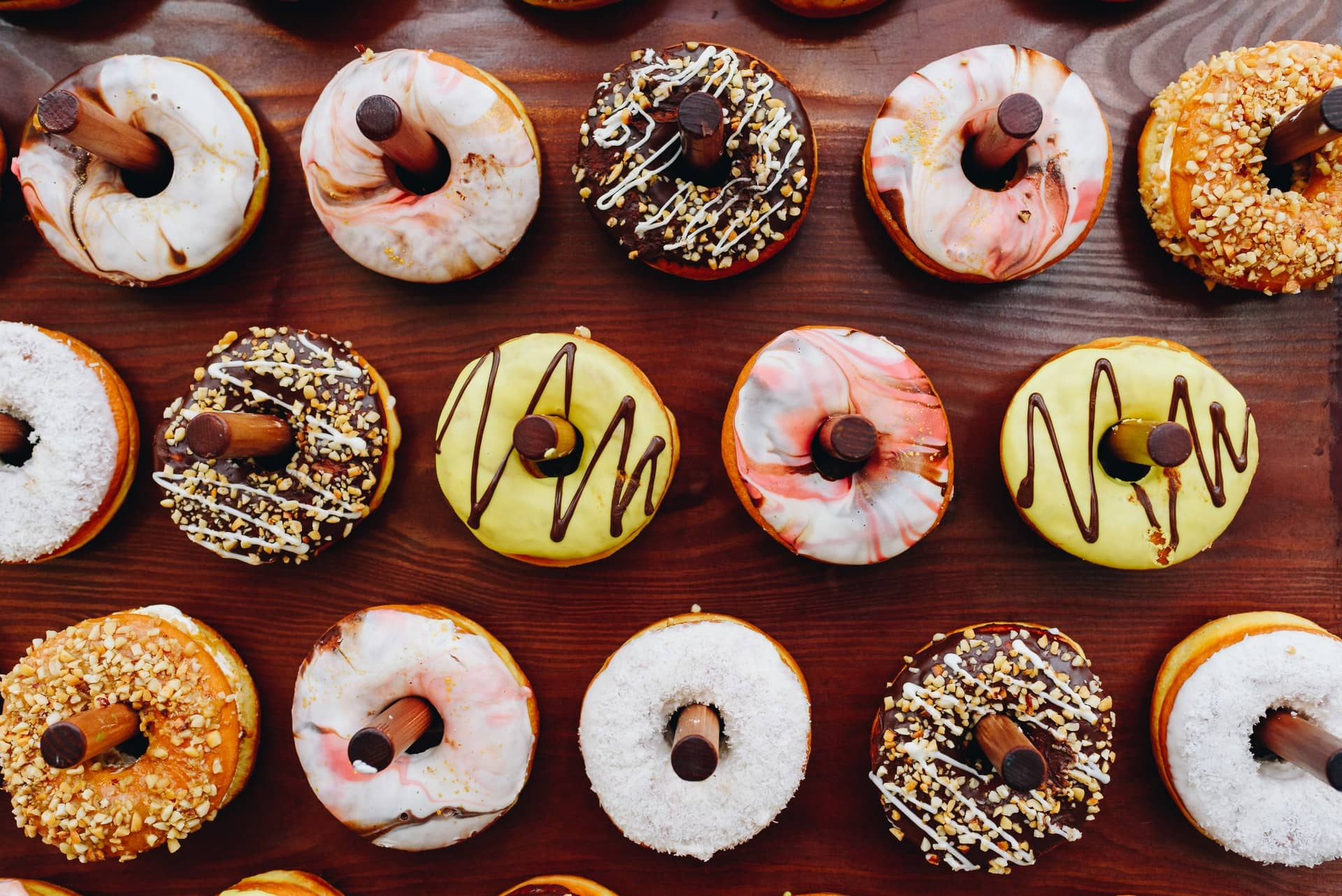 Beautiful donuts